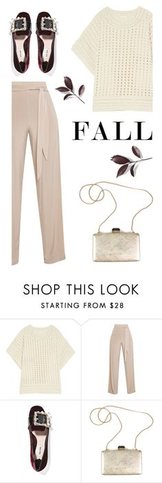 """Fall Fashionista"" by pattykake ❤ liked on Polyvore featuring Chloé, Miu Miu and Lanvin"
