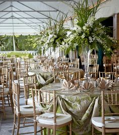 beautiful dinner under the tent at the marble house newportwedding venues tentmarblesdinners
