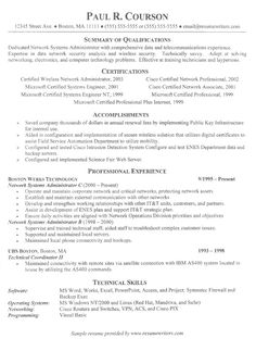 information technology resume template httptopresumeinfoinformation technology - Great Sample Resumes