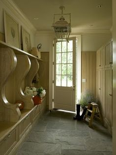 Colonial Residence, Greenwich Mudroom Traditional by Harrison Design Colonial, Harrison Design, Mudroom Laundry Room, Slate Flooring, Kitchen Flooring, Room Additions, Contemporary Furniture, Decoration, Sweet Home