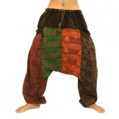 pantalones harén impresos