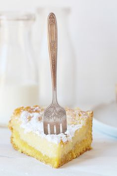 Ooey Gooey Butter Cake made with Cake Mix! SO easy!