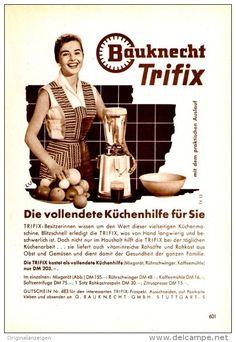 Original-Werbung/ Anzeige 1957 - BAUKNECHT TRIFIX - ca. 130 x 180 mm