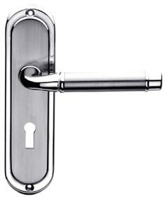 M.Marcus Heritage HIL8600 Hilton Mayfair Lever Lock Door Lacquered satin brass face with a polished brass edge Hilton Mayfair traditional lever locu2026  sc 1 st  Pinterest & M.Marcus Heritage HIL8600 Hilton Mayfair Lever Lock Door Lacquered ... pezcame.com