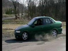 Opel Vectra B 2.0 16 v CDX rally drift palenie gumy almoust crash