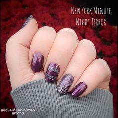Color Street Nails, Beauty Nails, Hair Beauty, Night Terror, Us Nails, Nail Inspo, Nail Art, Nail Pics, Nail Stuff