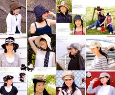OUT OF PRINT Hats n2566 Japanese craft Book by PinkNelie on Etsy