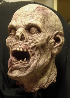 ZOMBIE from sculpt to finished piece.