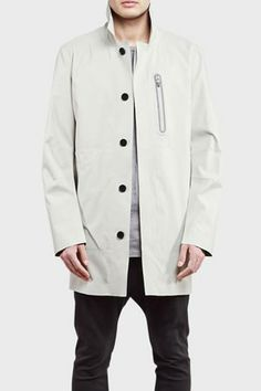 ISAORA Mac Coat White