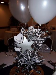 50th Birthday Centerpiece