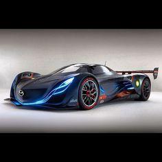Futuristic Mazda FURAI Concept