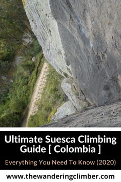 "Here you have it, the ultimate guide to Suesca Climbing. Located only 45km north of Bogota, it is the most developed and ""complete"" climbing area in the country, with over 400 routes. Suesca has a nice mix of trad, sport, multi-pitch, and bouldering. This is the birthplace of Colombian climbing. The first routes are said to have been opened in the 1940s by German climbers looking for a place to train for expeditions to the high mountains in El Cocuy National Park. Climbers, Bouldering, Pitch, Need To Know, 1940s, Everything, National Parks, German, Train"