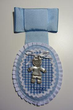 El taller de Maricú: Medallones para el carrito de bebe.