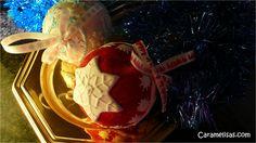 Caramelisas: Bolas de navidad 3D y bolas de nieve con galletas ...