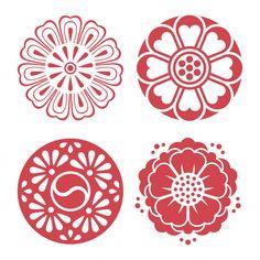 04682833b Korean traditional design elements Premium Vector Korean Traditional,  Traditional Design, Traditional Interior, Traditional
