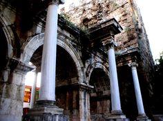 Hadrians Gate in Antalya