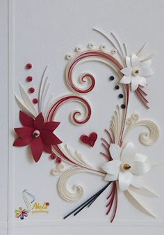 neli: Quilling cards - With love.../ oт 15.01.2012 /
