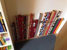"IKEA ""Bygel"" to organise. Useless space behind the door made useful..."