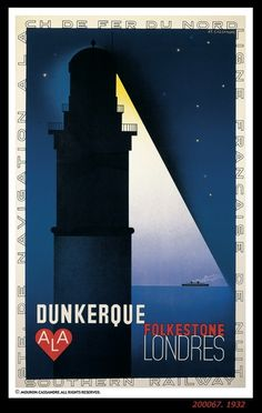 Anjas' Theme Of The Week: Art Deco week 2: Classic Art Deco Posters by Cassandre