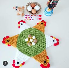 Crochet Sheep, Cute Crochet, Crochet Hats, Crochet Flower Squares, Crochet Flowers, Baby Knitting Patterns, Crochet Patterns, Crochet Hat Tutorial, Lace Making