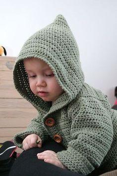 Free Crochet Pattern   Baby Hoodie