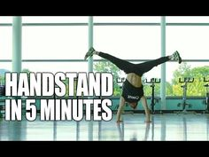 Learn How to Handstand in Only 5 Minutes | ASAP - YouTube