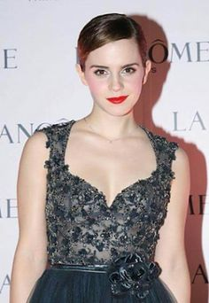 British actress Emma Watson attends a promotional event for Lancome cosmetics on December 7, 2011 in Hong Kong, China.