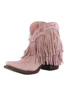 the spitfire fringe boot-cowgirl pink - Junk GYpSy co.