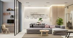 Clean lines and simply chic design is all the rage, and when it's done well there is no question as to why. A step inside a home that utilizes the beauty and si