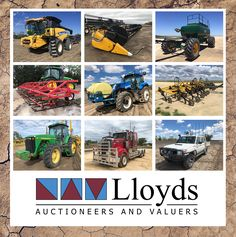 Lloyds Auctioneers and Valuers - Auction Lots Agriculture, Civilization, Harvest, Wednesday, Opportunity, Transportation, Monster Trucks, Auction, The Incredibles