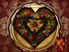 """heart chocolat cake Torta golosinera/ Cake chocolat candy TORTA """"REINA DE CHOCOLATE"""" CORAZÓN,  Cumpleaños  Birthday"""
