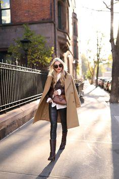 30 ideas con abrigo Camel