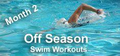 Off Season Swim Workouts - Advanced