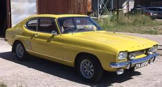 Property of a deceased's Ford Capri Automatic Coupé Chassis no. Mk 1, Ford Capri, Ford Classic Cars, Pony Car, S Car, Music Guitar, Automatic Transmission, Sport Cars, Motor Car