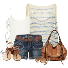 Casual outfit.