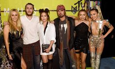 Miley Cyrus' family lend their support to star's outrageous VMAs show