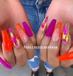 Beautiful Nail Designs To Finish Your Wardrobe – Your Beautiful Nails Aycrlic Nails, Hot Nails, Bling Nails, Gorgeous Nails, Pretty Nails, Sculpted Nails, Fire Nails, Best Acrylic Nails, Dream Nails