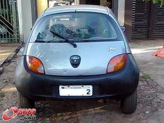 Ka 1.0 Cinza 1999 - FORD - 581883 | SHOPCAR