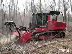 Fecon Forestry Mulcher. This would have came in handy when we were running fence.