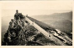 San Marino - The defensive walls of the Fratta 1930s