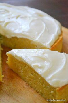 Gluten Free Flourless Lemon Cake