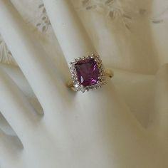 Rod Stelter Original - Sapphire and diamond ring set in 14kt gold https://www.facebook.com/RodStelterJeweler/