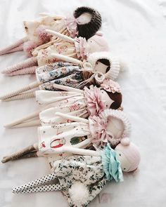 Little Miss Tippy Toes dolls. So cute!