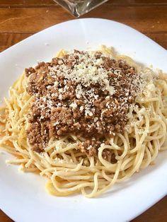 Μακαρόνια με κιμά !!!! ~ ΜΑΓΕΙΡΙΚΗ ΚΑΙ ΣΥΝΤΑΓΕΣ 2 Baked Pasta Dishes, Pasta Bake, Greek Recipes, Recipies, Spaghetti, Cooking Recipes, Baking, Ethnic Recipes, Foods