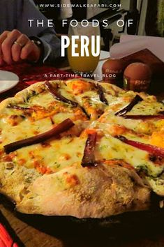 Learn fun Peru food facts about the things you'll find to eat and drink on vacation in Lima and Cusco. Inspire your taste buds to go on a Peruvian adventure. Raw Food Recipes, Italian Recipes, Cooking Recipes, Healthy Recipes, Freezer Recipes, Freezer Cooking, Drink Recipes, Cooking Tips, Dinner Recipes
