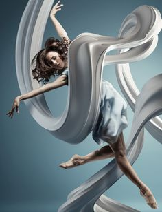 Frozen Dancers in Air - Inspiring 3D Sculptures that represents their motion and style. Follow us www.pinterest.com/webneel