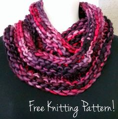 NobleKnits Knitting Blog: Let's Be Franca Cowl Free Knitting Pattern