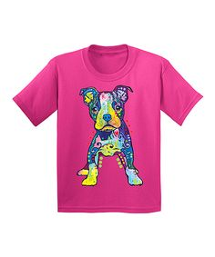 Loving this Dean Russo Heliconia Super Puppy Tee - Kids on #zulily! #zulilyfinds