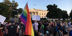 Trans Activists Protest Trump's Transgender Military Ban in New York San Francisco and D.C.