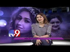 Akhil Movie Heroine Sayesha Saigal in TV9 Studio